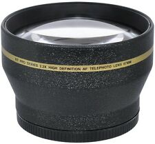 77MM 2.2X 1080P OPTICAL TELEPHOTO ZOOM LENS FOR CANON EOS REBEL DSLR CAMERAS