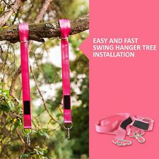 2pack Tree Swing Hanging Kit Hammock Holds 2400lb 100% Weather proof Carabiners