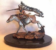 """Legends Sculpture """"FINAL CHARGE"""" HAND SIGNED by C. A .Pardell ~ 1992 LE ~ Mint!"""