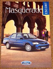 1996 FORD ESCORT MASQUERADE SALOON Sales Brochure - Mint!