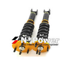 SYC ADJUSTABLE DAMPER COILOVERS FRONT PAIR FORD FALCON XR6 Turbo FG Ute 08-14