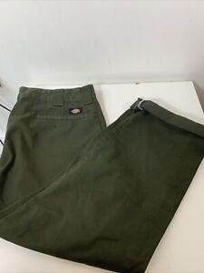 Dickies Slim Straight Cargo Skate Trousers Size 36 X 32