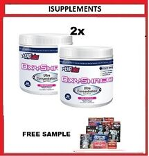 EHPLABS OXYSHRED THERMOGENIC  WEIGHT LOSS FAT BURNING FREE DELIVERY AUSTRALIAX2.