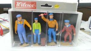 Wilesco Z 231 Figurensatz Mechaniker 4er Set Neu