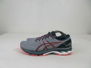 Asics Gel-Kayano 27 Running Athletic Shoes Sheet Rock Blue Mens 10.5