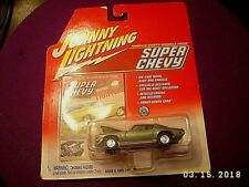 JOHNNY LIGHTNING '70 1/2 CAMARO RS/Z28 SUPER CHEVY MAG CHEVROLET CAR RRs GREEN