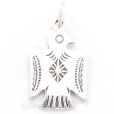 THUNDERBIRD Charm South West Native American Indian Pendant 925 STERLING SILVER
