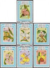 Laos 838-844 (complète edition) neuf avec gomme originale 1985 Fleurs
