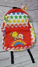 Rainbow Brite Twink Sprite Hooded Backpack Knapsack School Bag Bright Stars A
