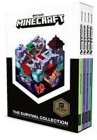 Minecraft Survival Collection 4 Books Collection Box Set Pack Exploration, Farmi