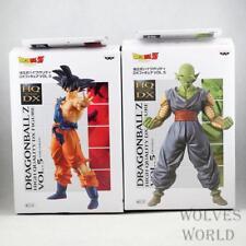 """New HQ DX vol.5 Lot of 2  DRAGON BALL Z Figures Son Goku & Piccolo PVC 8""""High"""