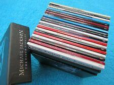 Michael Jackson Visionary BOX komplett !! SEHR GUT DualDisc Single CD DVD RAR