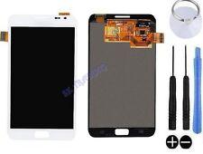 ECRAN LCD + VITRE TACTILE BLOC ASSEMBLE SAMSUNG GALAXY NOTE 1 N7000 I9220 BLANC