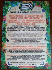 More details for kendal calling 2020 large flyer supergrass stereophonics primal scream blossoms