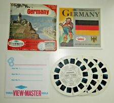 GERMANY VIEWMASTER NATIONS OF THE WORLD REELS SET B193 RARE WITH STAMP   F585