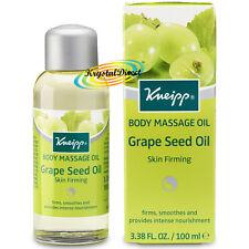 Kneipp Massage Oil GRAPE SEED OIL Skin Firming 100ml