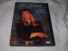 JONI MITCHELL Painting with Words and Music DVD Live Concert Mark Isham