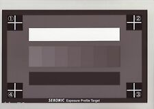 SEKONIC EXPOSURE PROFILE TARGET CARD (GRAY PATCH SCALE / 18% GRAY CARD)