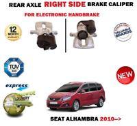 FOR SEAT ALHAMBRA 2010-> NEW REAR RIGHT SIDE ELECTRIC HANDBRAKE BRAKE CALIPER