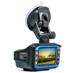 Portable Auto Radar Detectors with DVR Dash Cam Vehicle Anti Police Speed Contro
