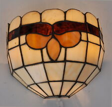 A Pair of Tiffany style wall light ( 2 lights)