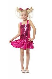 Disco Glitter Glamour Party Pailletten Kostüm Kleid Hippie Flowerpower 70erJahre