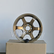4 ROTA WHEEL GRID 15X6.5  4X100 38 67.1 FRSB CIVIC INTEGRA MIATA MR2 FIT DELSOL