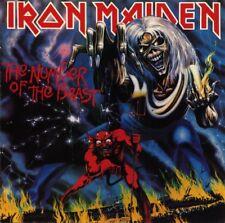 LP IRON MAIDEN THE NUMBER OF THE BEAST VINYL NWOBHV HEAVY METAL