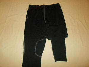 UNDER ARMOUR COLD GEAR BLACK ATHLETIC PANTS WOMENS XL EXCELLENT CONDITION