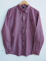 Fantastic OAKLEY Men's Burgundy Long Sleeve Shirt size Large / Fit Chest 42-44""