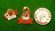 Calgary Stampede clutch back Lot collection travel tac pins  #5