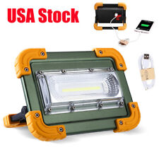 100000lm COB LED Work Light Rechargeable Inspection Flashlight Flood Lamp stand