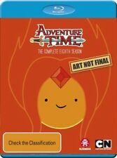 PREORDER - ADVENTURE TIME : SEASON 8  -  BLU RAY - Sealed Region B for UK