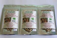 Organic Ginger Root 100% - 500mg x 180 Veg Capsules - Natural Superfood - Bio