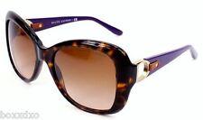 New RALPH LAUREN Purple Brown 8108Q Plastic Rectangle Gradient Sunglasses Women