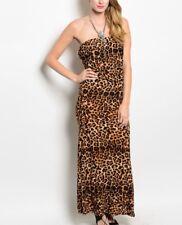 New Leopard Maxi Dress Size L