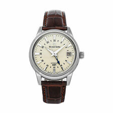 Grand Seiko Elegance Collection GMT Auto Steel Mens Strap[ Watch Date SBGM221