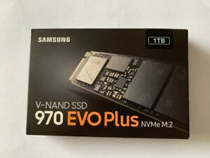 Samsung 970 EVO Plus 1TB, Internal, M.2 Solid State Drive - (MZ-V7S1T0B/AM)