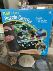 Roll & Go Puzzle Carrier- Portable Work Surface For Puzzles