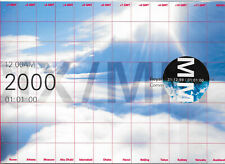 GB 1999 MILLENIUM MOMENT MINIATURE SHEET PACK WITH HANDSTAMPS