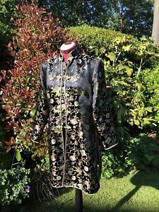 Vintage Chinese Brocade Coat Brocade Jacket