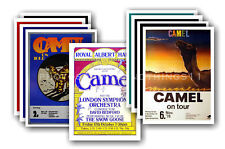 CAMEL - 10 promotional posters  collectable postcard set # 1