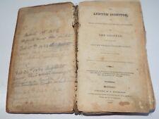 1827 LENTEN MONITOR Moral Reflections & Devout Aspirations on The Gospels