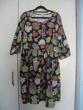 BNWT GORMAN cactus flower smock dress SIZE 8