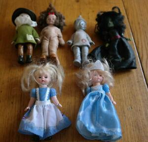 6 Madame Alexander Dolls 4 Wizard Of Oz + 2 McDonalds 2008-10