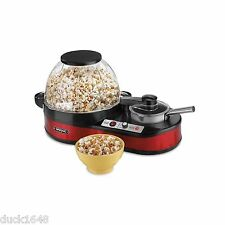 Waring Pro Popcorn Maker Popper with Melting Station NEW