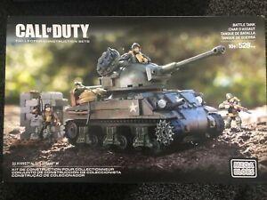 Mega Bloks Call of Duty Call of Duty WW2 Battle Tank CNG96 - RARE