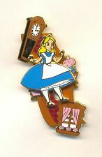 Disney Alice in Wonderland Sliding Down the Rabbit Hole Slider LE Pin NEW