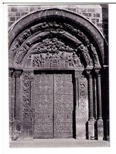Postcard:The Basilica Saint Denis - The South Central Entrance Gate