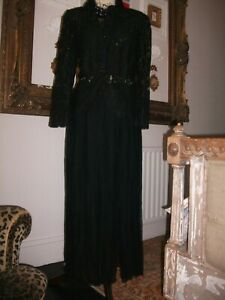 BNWT Ladies Black Gothic Vamp Skirt size XL by DressBarn